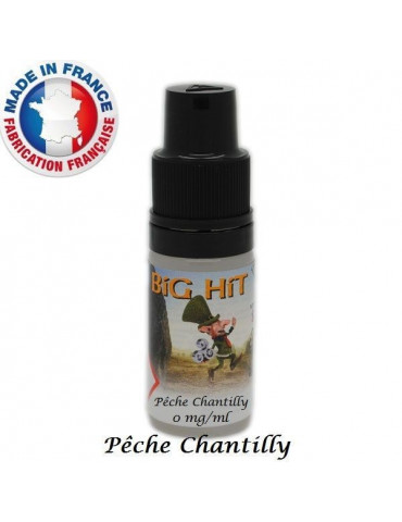 E-liquide Pêche Chantilly BIG-HIT